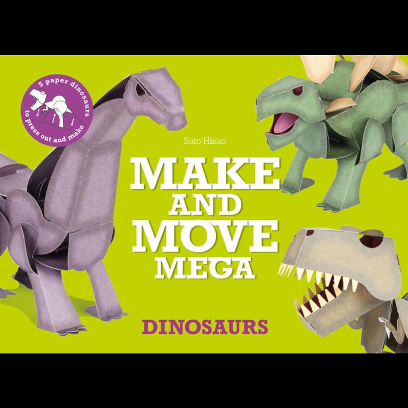 Laurence King Publishing Make and Move Mega: Dinosaurs