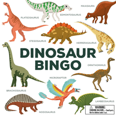 Laurence King Publishing Dinosaur Bingo