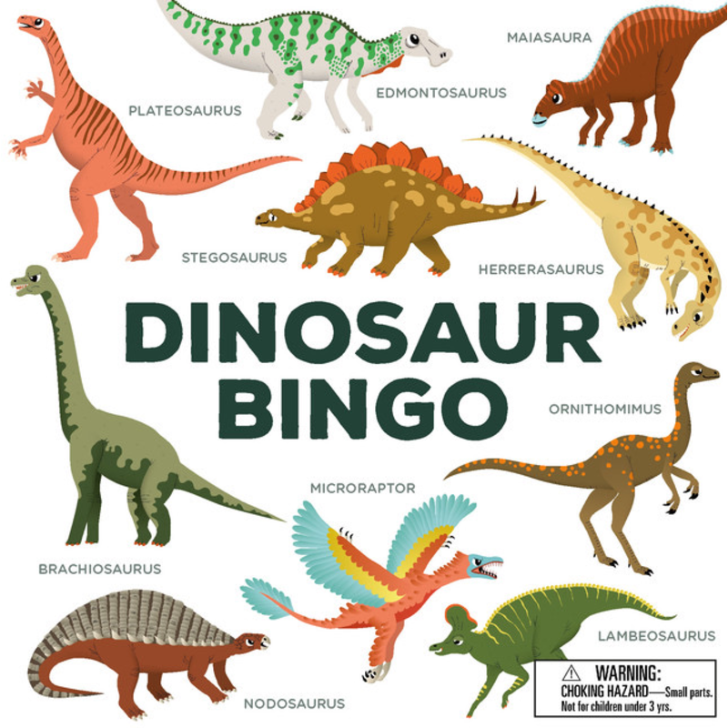 Laurence King Publishing Dinosaur Bingo