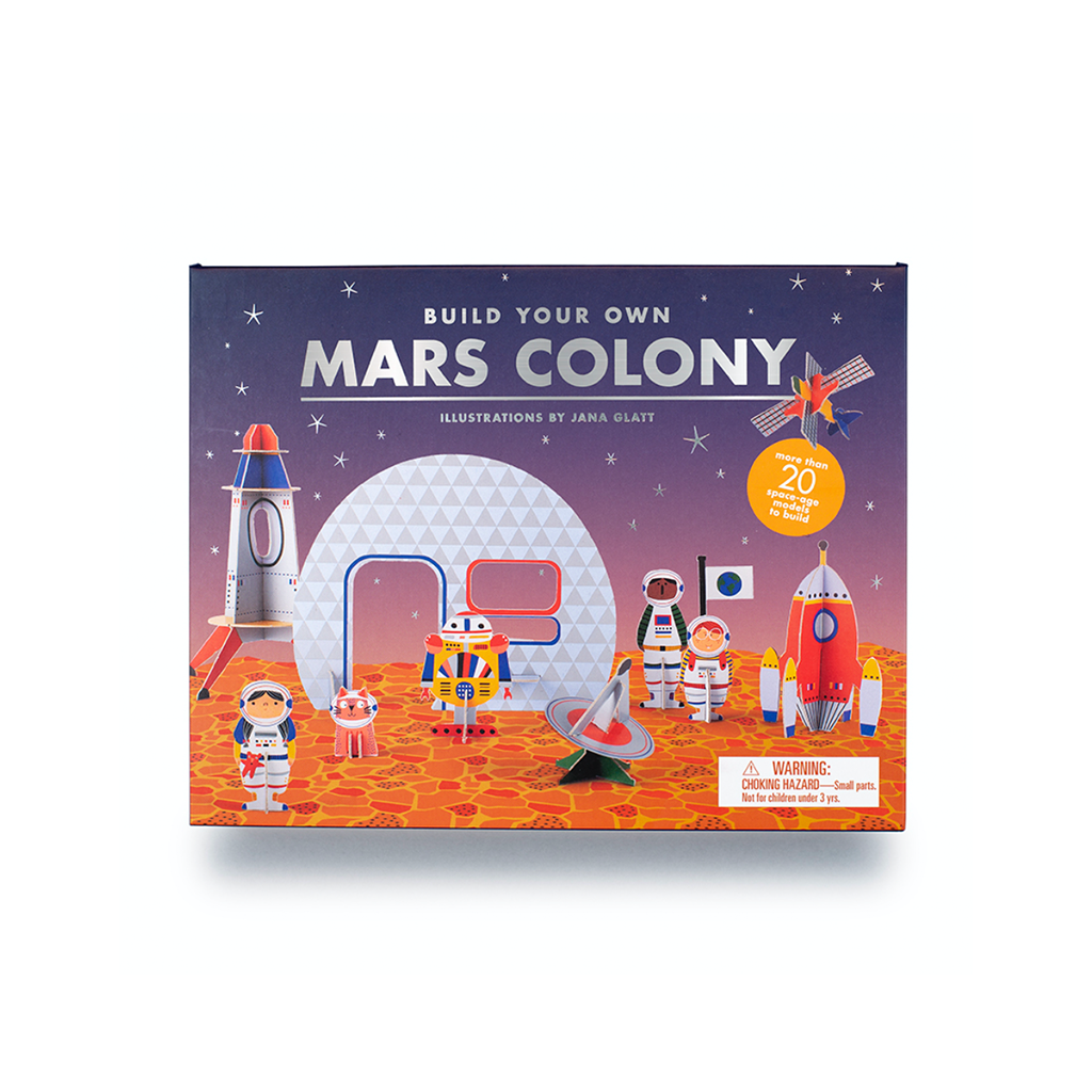 Laurence King Publishing Build Your Own Mars Colony