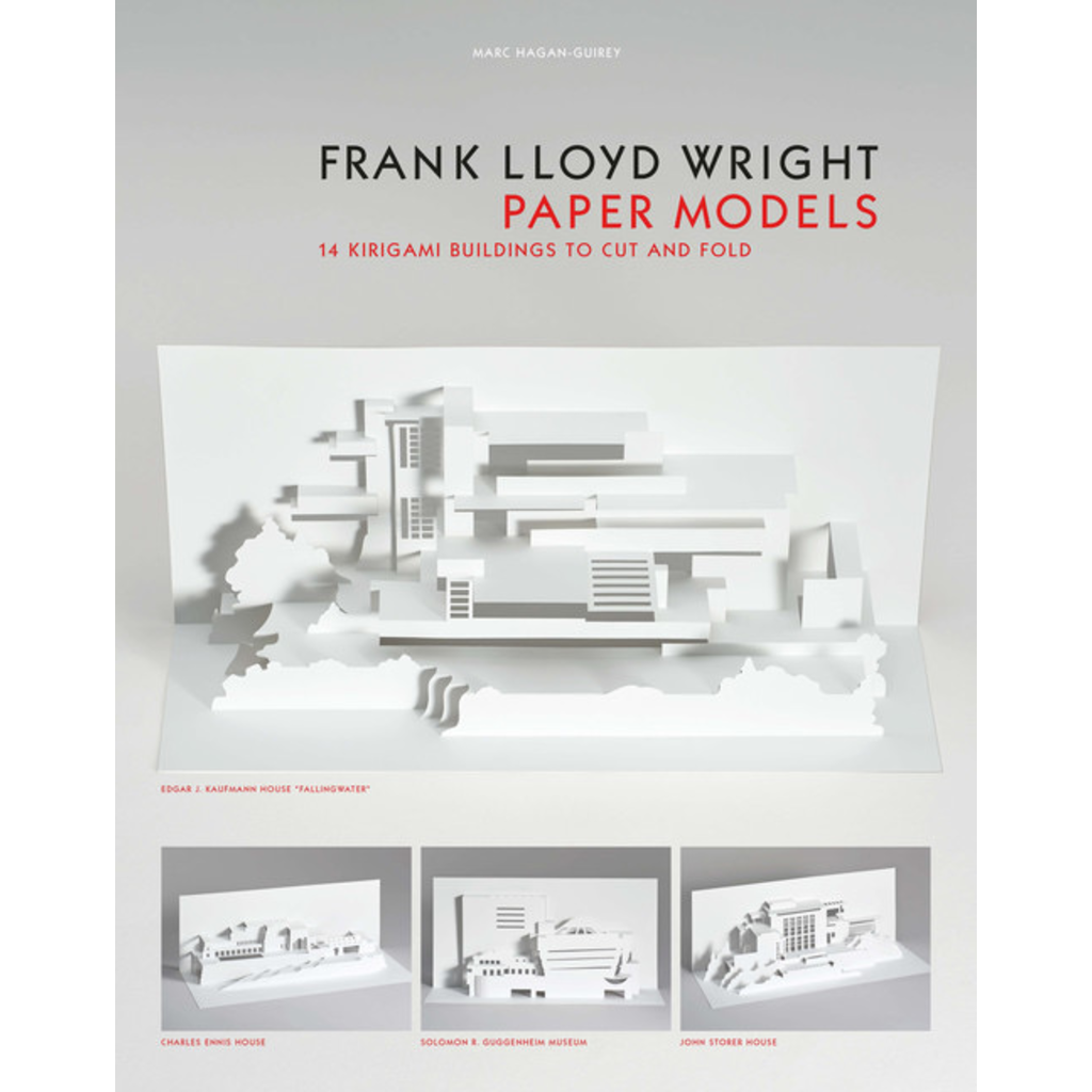 Laurence King Publishing Frank Lloyd Wright Paper Models