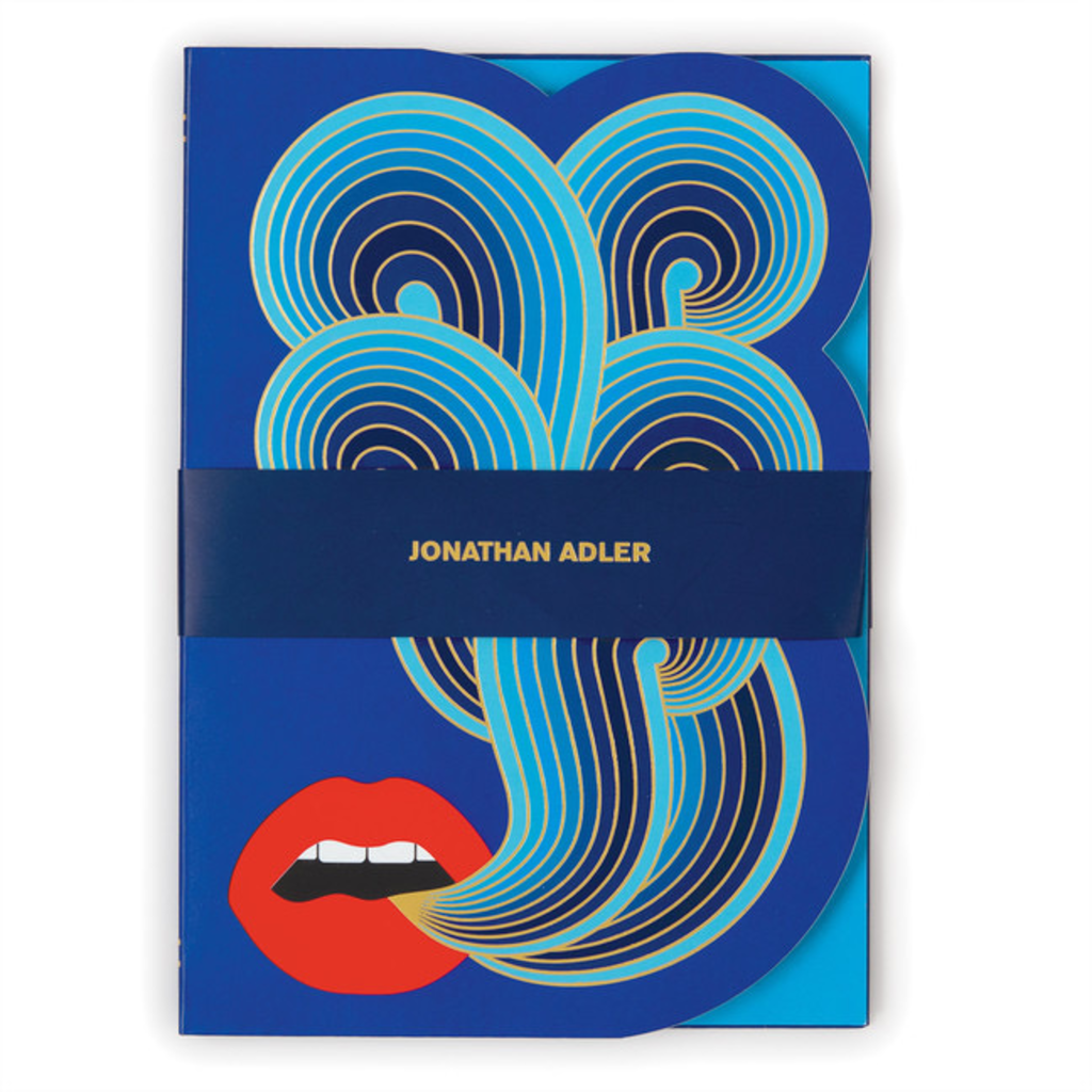 Galison Mudpuppy Jonathan Adler Lips A5 Journal
