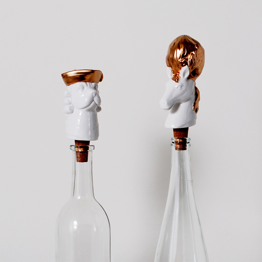 Imm Pomp & Circumstance Wine Stoppers Horse