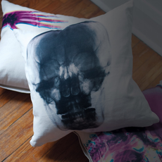 Imm Radiant Relics Cushions - X-Ray Hands