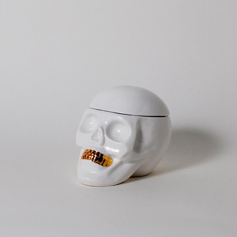 Imm The Oracles Human Skull Jewelry Holder Organizer