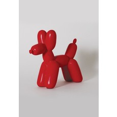 Imm Big Top Ceramic Balloon Dog Bookend - Red