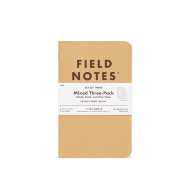 Field Notes Field Notes Mixed 3 Pack