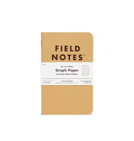 Field Notes Field Notes Graph 3 Pack
