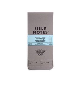 Field Notes Field Notes Front Page Edition