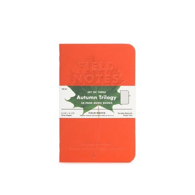 Field Notes Field Notes Autumn Trilogy Edition