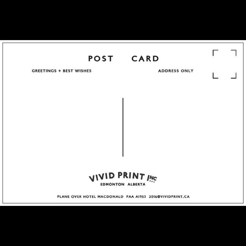 Vivid Print Hotel Macdonald 1944 Postcard