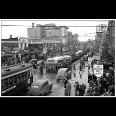Vivid Print Edmonton 1945 Postcard