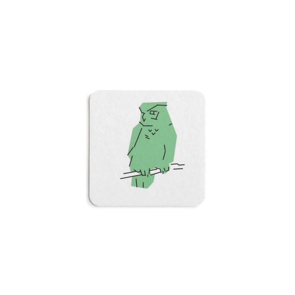 Vivid Print Parks Alberta Owl Coaster