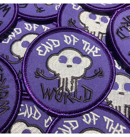 Vivid Print End Of The World Embroidered Patch