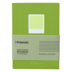 Wild & Wolf Polaroid Soft Touch Small Notebook Green