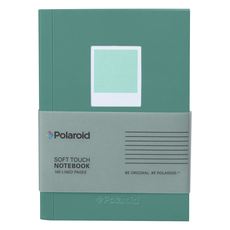 Wild & Wolf Polaroid Soft Touch Small Notebook Turquoise