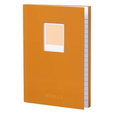 Wild & Wolf Polaroid Soft Touch Small Notebook Orange