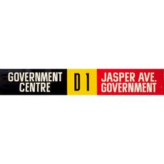Vivid Print ETS Single Destination   Government Centre / Jasper Ave. Government