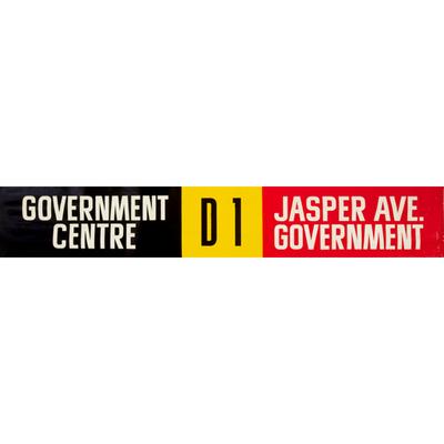 Vivid Print ETS Single Destination | Government Centre / Jasper Ave. Government