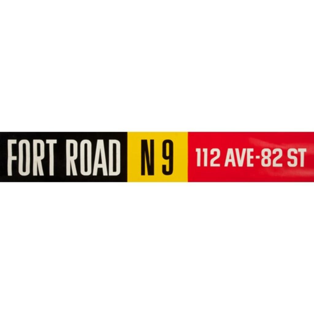 Vivid Print ETS Single Destination | Fort Road / 112 Ave-82 St