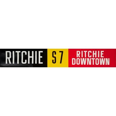 Vivid Print ETS Single Destination | Ritchie / Ritchie Downtown