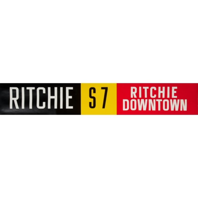 Vivid Print ETS Single Destination | Ritchie / Ritchie Downtown