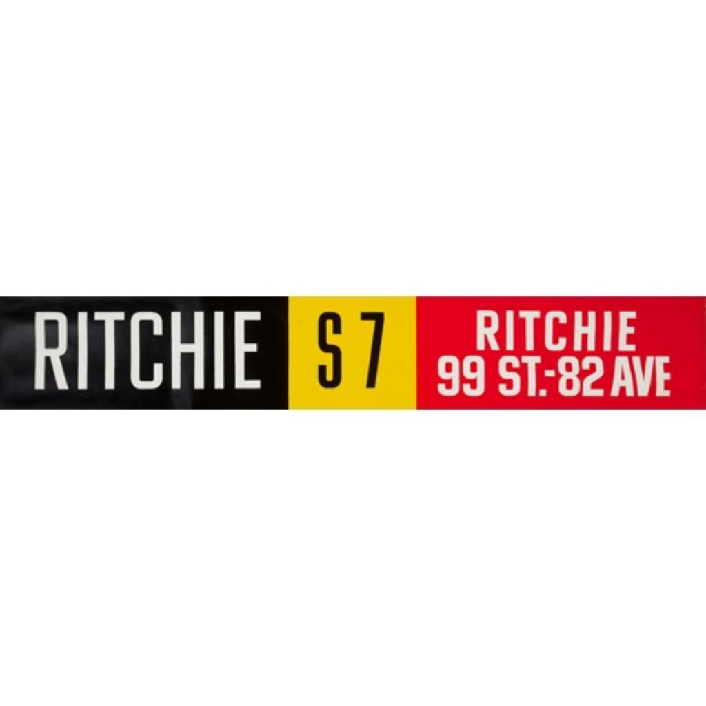 Vivid Print ETS Single Destination | Ritchie / Ritchie 99 St. - 82 Ave