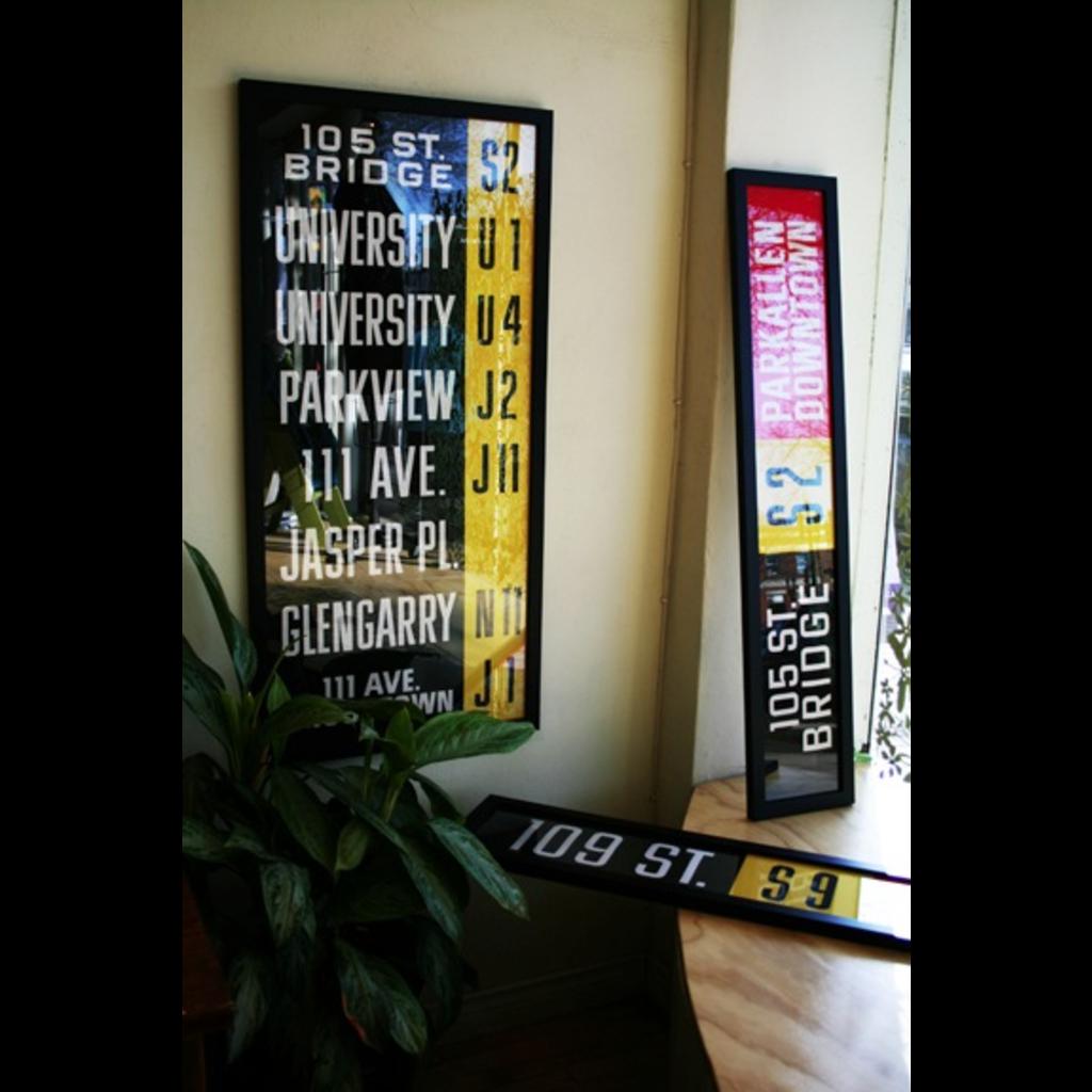 Vivid Print ETS Single Destination | Garage / 104 St.-82 Ave.