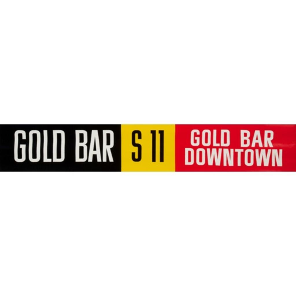 Vivid Print ETS Single Destination | Gold Bar / Gold Bar Downtown