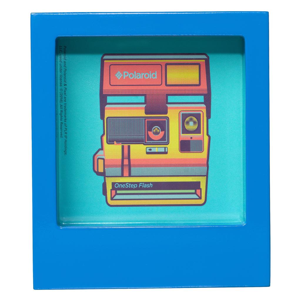 Wild & Wolf Polaroid Desk Frame 4X4 - Blue