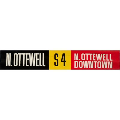 Vivid Print ETS Single Destination | N.  Ottewell / N. Ottewell Downtown