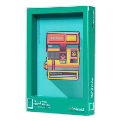 Wild & Wolf Polaroid Desk Frame 5X7 - Turquoise
