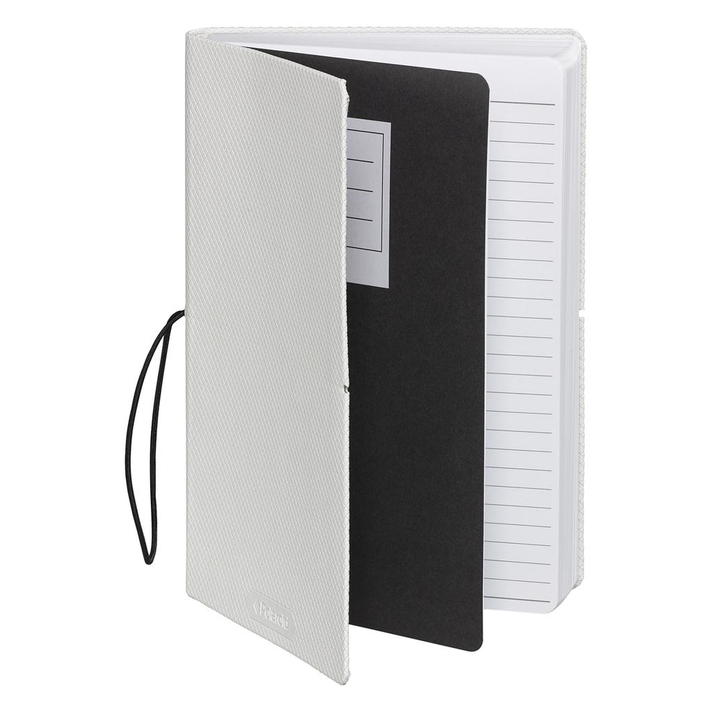 Wild & Wolf Polaroid Flexi-Cover Medium Journal - White