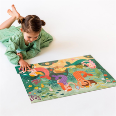 Wild & Wolf Floor Puzzle - Mermaid Friends