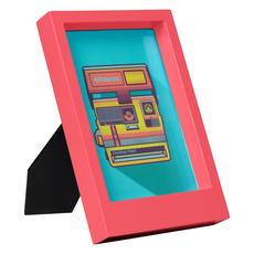 Wild & Wolf Polaroid Desk Frame 5X7 - Pink