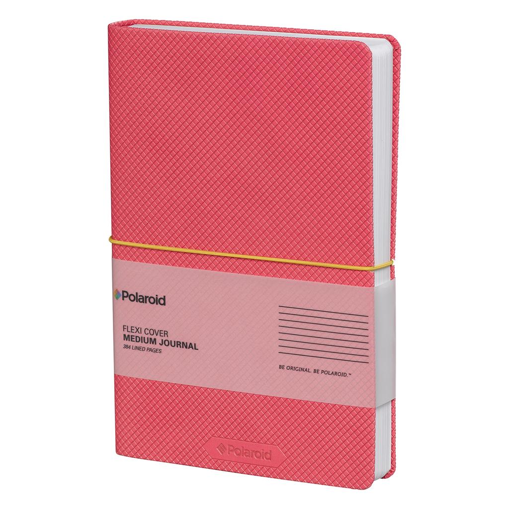 Wild & Wolf Polaroid Flexi-Cover Medium Journal - Pink