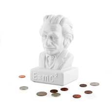 Kikkerland Coin Bank Einstein