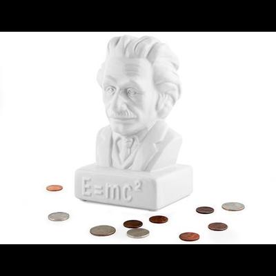 Kikkerland Coin Bank Einstein