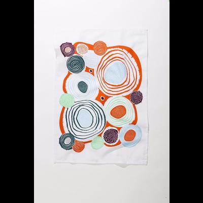 Mezzaluna Whirlygig Tea Towel