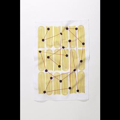 Mezzaluna Dot Field Tea Towel