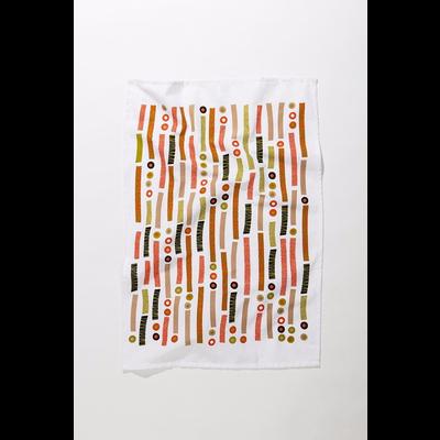 Mezzaluna Morse Code Tea Towel