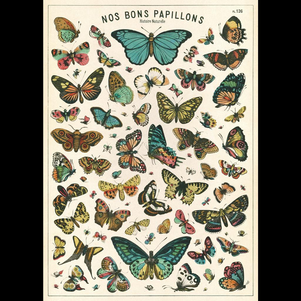 Cavallini Butterfly Chart Wrap Sheet