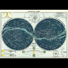 Cavallini Celestial Chart Wrap Sheet
