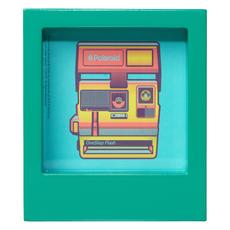 Wild & Wolf Polaroid Desk Frame 4X4 - Turquoise