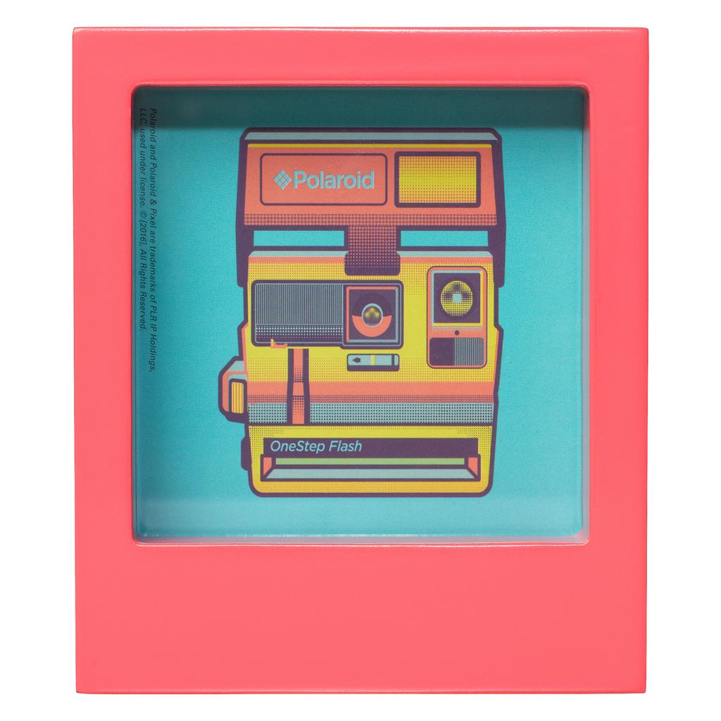 Wild & Wolf Polaroid Desk Frame 4X4 - Pink