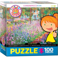 Eurographics Monet's Garden Fine Art For Kids Jigsaw Puzzle