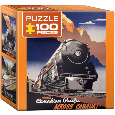 Eurographics CP Rail Travel CPR Jigsaw Puzzle