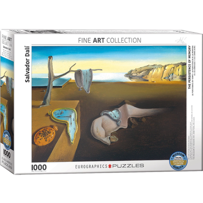 Eurographics The Persistence of Memory Jigsaw Puzzle