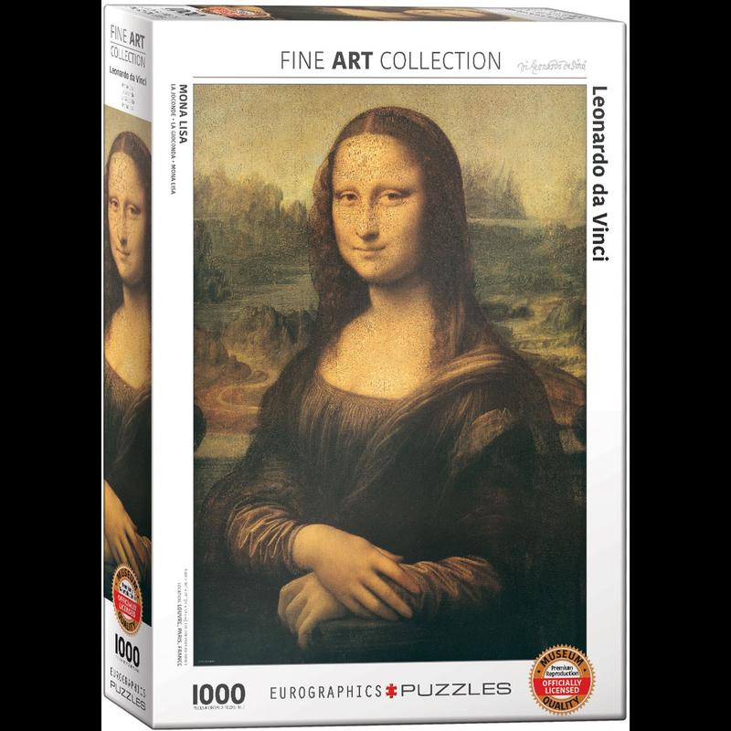 Eurographics Mona Lisa Jigsaw Puzzle