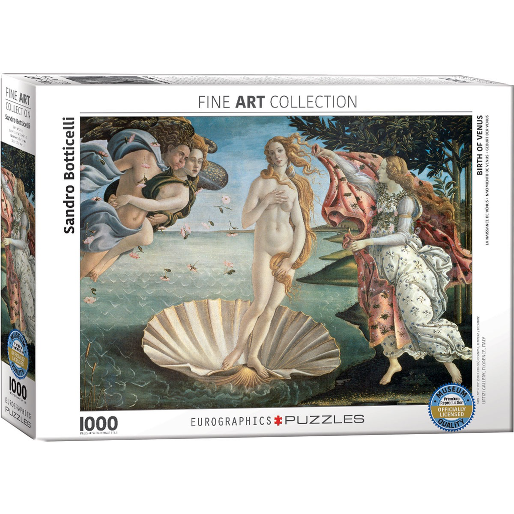 Eurographics Birth of Venus Jigsaw Puzzle